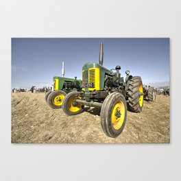 Turner Tractors  Canvas Print