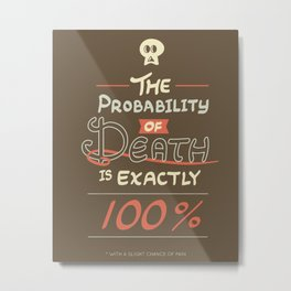 Morbid Reality #01 Metal Print
