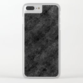 Camouflage grey design by Brian Vegas Clear iPhone Case