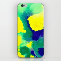 brazil iPhone & iPod Skins featuring WATERCOLOR BRAZIL by Chrisb Marquez