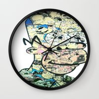 homer Wall Clocks featuring Homer Color by Drew Kochell