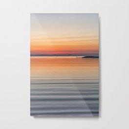 Ripples sea and sky Metal Print