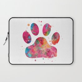 Colorful Paw Laptop Sleeve