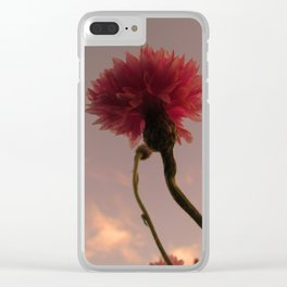 Wildflower Sunsets #10 Clear iPhone Case