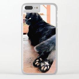 Toe Beans (Lanai Cat Sanctuary) Clear iPhone Case