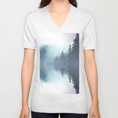 Forest Reflections Unisex V-Neck