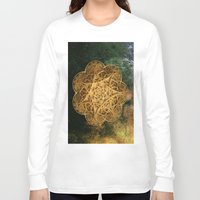 celtic Long Sleeve T-shirts featuring Celtic Gold by Lynn Bolt