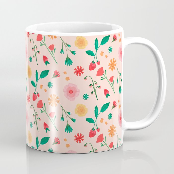 Spring Flowers Coffee Mug By Maiafaddoul Society6