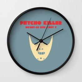 Psycho Killer Wall Clock