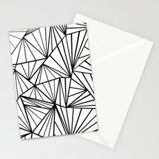 Ab Fan Zoom Invert Stationery Cards