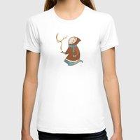 antler T-shirts featuring Antler by breakfastjones