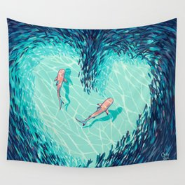 Teamwork Makes the Dream Work Wall Tapestry