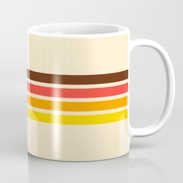 African Retro Stripes Coffee Mug