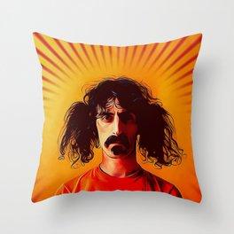 the muffin man Throw Pillow