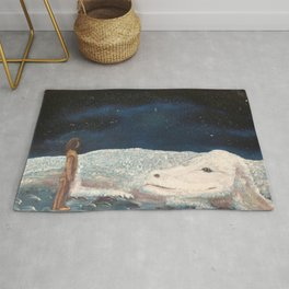 NeverEnding Story - Falkor Luckdragon - FAN ART Rug