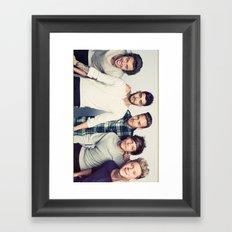 OneDirection Framed Art Print