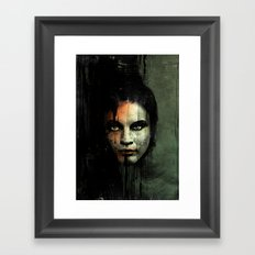 The Widow Returns Framed Art Print