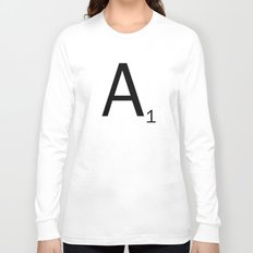 Scrabble Letter Tile - A Long Sleeve T-shirt