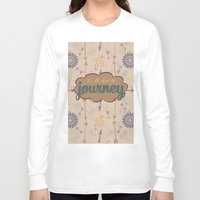 journey Long Sleeve T-shirts featuring Journey by Skuishy