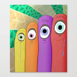 The Mindless American Family Canvas Print
