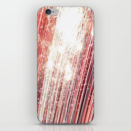 wall of red iPhone Skin