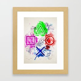 The Unstoppable Framed Art Print