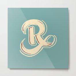 R Metal Print
