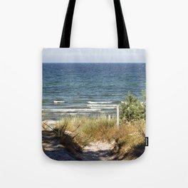 Sand Dune on the Isle of Ruegen Tote Bag