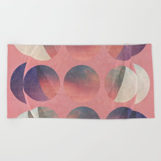 Abstracted Beach Towel