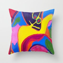 Lurking Throw Pillow