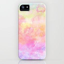 Rainbow Watercolour Gradient iPhone Case