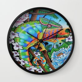 'Discovery' 11''x14'' Colored Pencil and Marker on Bristol Board 2013 Dan Gribben Wall Clock