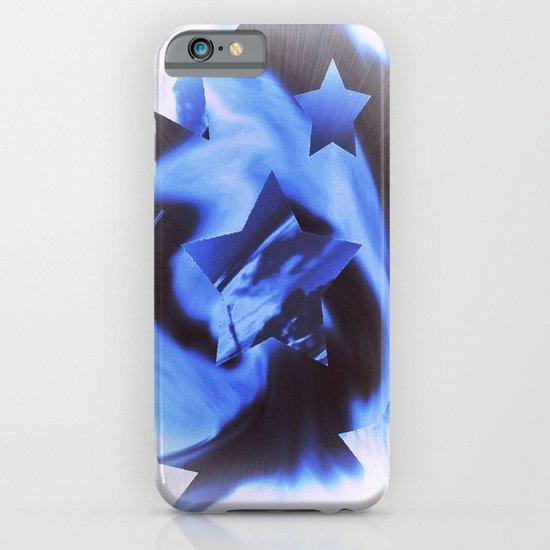 Starburts II cold blue iPhone & iPod Case