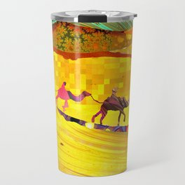 over the never ever ending sand Travel Mug