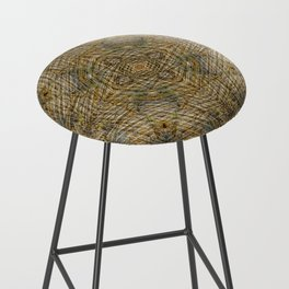 LAYERS OF TIME IN ANCIENT SANDSTONE Bar Stool
