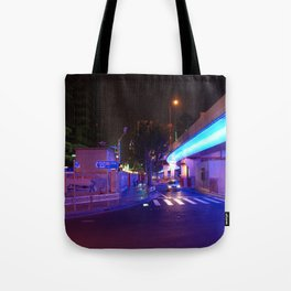 Night Time in Shanghai Tote Bag