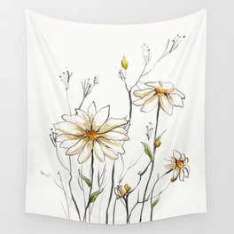 Flowers 4 Wall Tapestry