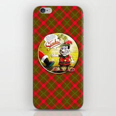 Here's Santa! iPhone Skin
