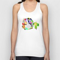 katamari Tank Tops featuring Little Katamari by CatOverlord