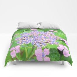 Pastel Rainbow Flowers Comforters
