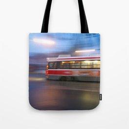 Steel in Motion Tote Bag
