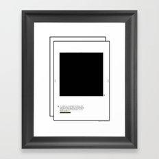 Geometric - Quadrat . (Spanish) Framed Art Print