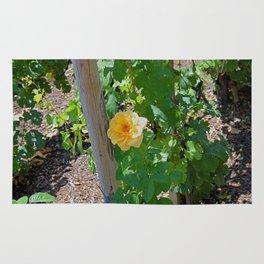 Rose In The Vine Rug