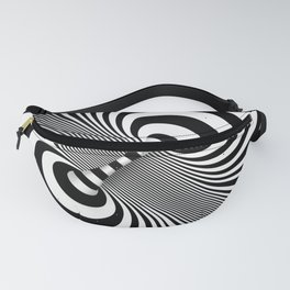 Dualism (black & white) Fanny Pack