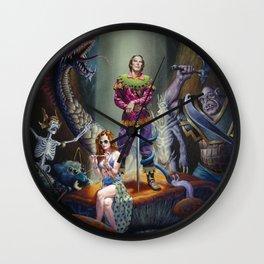 Royal Chaos Wall Clock