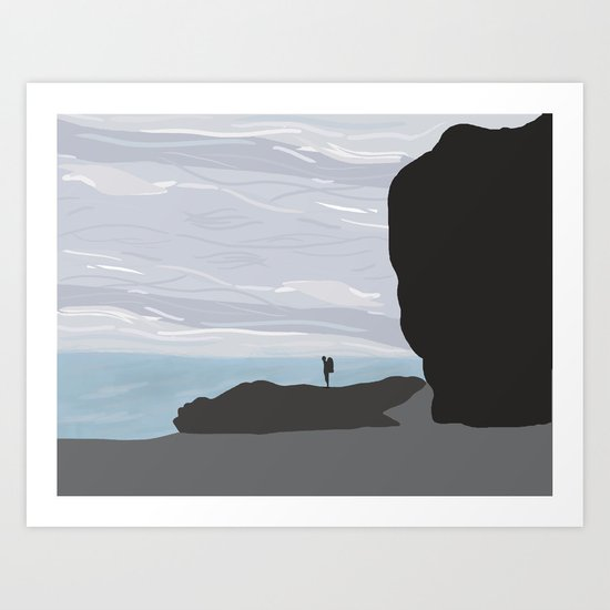 The California Coast Art Print