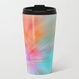 Abstract Big Bangs 002 Metal Travel Mug