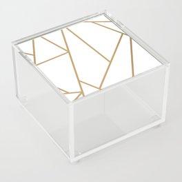 Art Deco Mosaic Acrylic Box