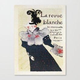 La Revue Blanche Toulouse Lautrec Canvas Print