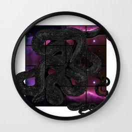 Snakelicious Wall Clock